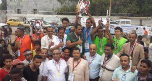 منتخب محافظة إب يحرز بطولة الكرة الشاطئية المفتوحة بالحديدة