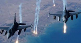 طيران التحالف يستهدف مبنى الحجر الصحي بالصليف ويسقط كمامات بالحديدة