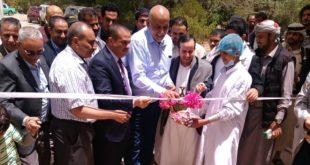 وزير الصناعة يدشن إفتتاح الخط الانتاجي الجديد لمستحضرات التعقيم بيدكو