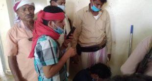 مدير عام مديرية الدريهمي يطلع على تجهيز مركز الحجر الصحي بالمديرية