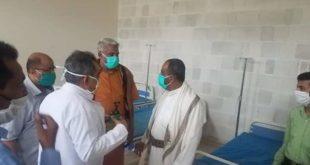 محافظ الحديدة يتفقد مركز العزل الصحي بهيئة مستشفى الثورة العام