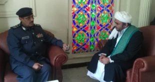 الفريق السامعي يلتقي رئيس جامعة دار العلوم الشرعيه بالحديدة