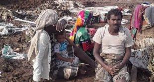 السيول تحاصر قرى المحال والدحافية بالدريهمي والسلطة المحلية تناشد لإغاثة المتضررين