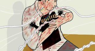 شاهد كاريكاتير يعبر عن قضية الشاب /#عبدالله_ الأغبري وقصة الذاكرة