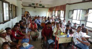 الحديدة : ورشة تدريب لمتطوعي مشروع المبادرات المجتمعية للتنمية ومكافحة اﻷوبئة بالزيدية