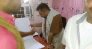 مدير عام مكتب الصحة بالمحافظة يتفقد سير العمل بالمراكز الصحية بمديرية الدريهمي