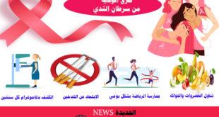 طرق الوقاية من الإصابة بسرطان الثدي