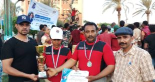 وكيل وزارة الشباب يكرم الفائزين ببطولة الشهيد حسن زيد الفردية لرفع الاثقال بالحديدة
