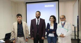 الماجستير في علوم الإعلام  للصحفي اليمني الأشول من الجامعة اللبنانية