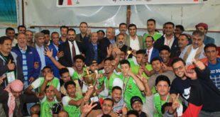 منتخب الحديدة يحرز بطولة الشهيد حسن زيد للكرة الطائرة