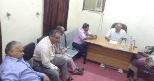 وكيل وزارة الصحة العامة والسكان يتفقد مستشفى السلخانة بالحديدة