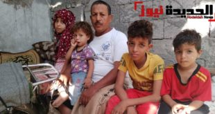 """الحاج عبدالله """"أمنيتي أمتلك غرفه لأطفالي وبعدها فليأتني الموت"""""""