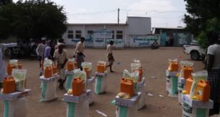 الدريهمي : توزيع مبالغ نقدية ومواد ايوائية وسلل غذائية للنازحين