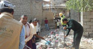 """تدشين حملة نظافة شاملة في مديرية المراوعة تحت شعار """" أهلا رمضان"""