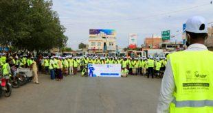مؤسسة التنمية المستدامة تدشن مبادرة رمضان لتنظيف مدينة الحديدة